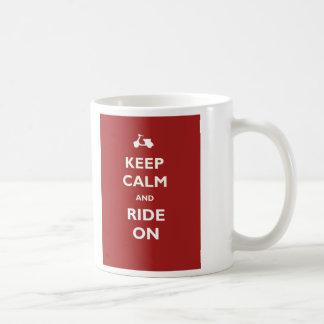 Keep Calm Ride Scooter Mug