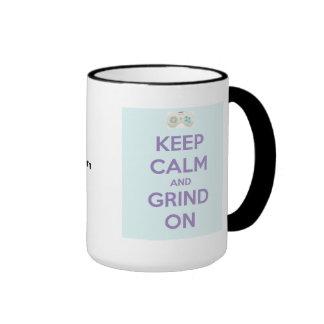 Keep Calm Ringer Mug