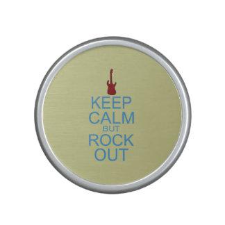 Keep Calm Rock Out – Parody -- Beige Background Speaker