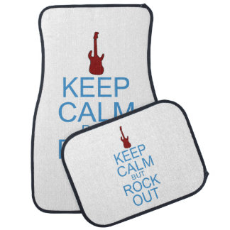 Keep Calm Rock Out – Parody - Pick Your Background Car Mat