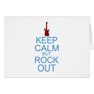 Keep Calm Rock Out – Parody - Pick Your Background Card