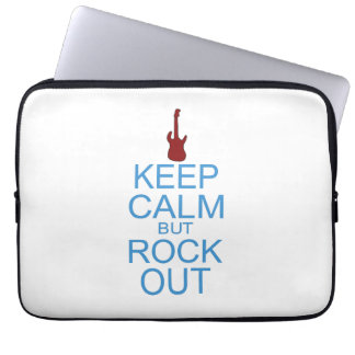 Keep Calm Rock Out – Parody - Pick Your Background Computer Sleeves