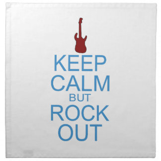 Keep Calm Rock Out – Parody - Pick Your Background Napkin