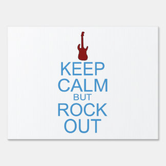 Keep Calm Rock Out – Parody - Pick Your Background Sign