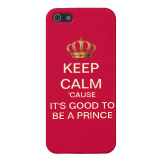 Keep Calm Royal Baby iPhone 5 Case (Red)