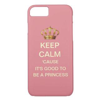 Keep Calm Royal Baby Princess iPhone Case