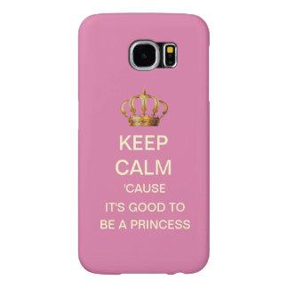 Keep Calm Royal Princess Galaxy s6 Case