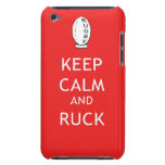 Keep Calm & Ruck iPod Touch Case-Mate Case