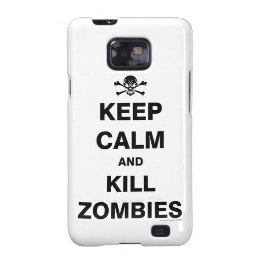 Keep Calm Samsung Galaxy SII Cover