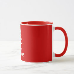 Combo Mug with Keep Calm & Save Vultures design