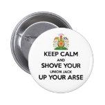Keep Calm Scot Indy Badge 2 Inch Round Button