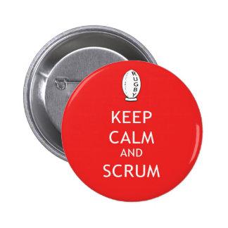 Keep Calm & Scrum Button