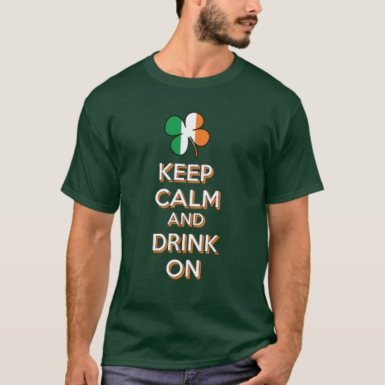 Keep Calm Shamrock T-Shirt