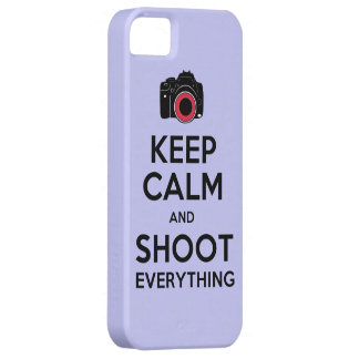 Keep Calm & Shoot Everything iPhone 5 Case