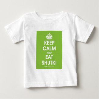Keep Calm Shutki by Lovedesh.com Baby T-Shirt