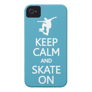 Keep Calm & Skate On custom color iPhone case-mate