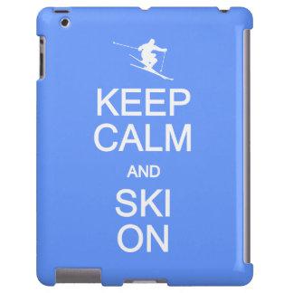 Keep Calm & Ski On custom cases