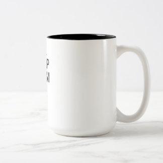 Keep Calm Ski On mug - choose style color