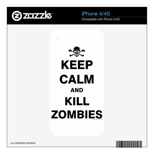 Keep Calm Skins For The iPhone 4