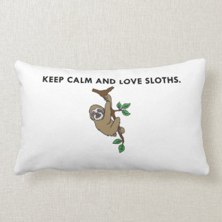 Keep Calm Sloth Pillow Case