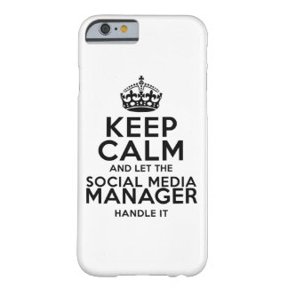 Keep Calm - Social Media Barely There iPhone 6 Case
