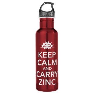 Keep Calm Stainless Steel Water Bottle