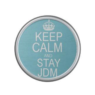 Keep Calm & Stay JDM Speaker