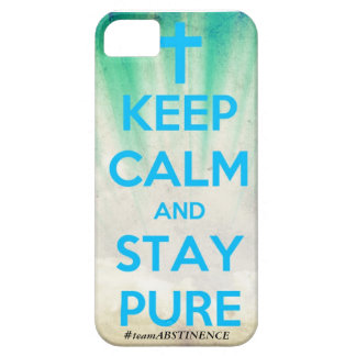 Keep Calm & Stay Pure iPhone Case