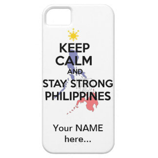 Keep Calm Stay Strong Philippines iPhone SE/5/5s Case