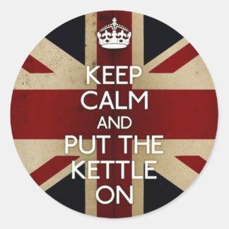 Keep Calm Sticker