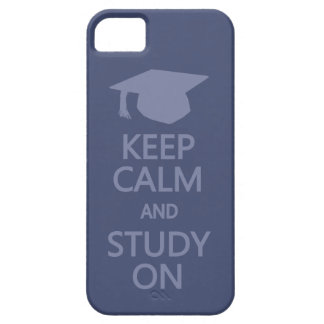 Keep Calm & Study On custom iPhone case