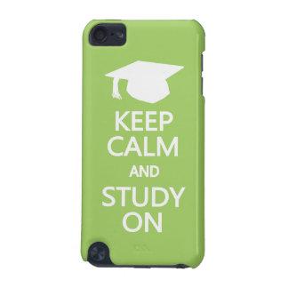 Keep Calm & Study On custom iPod Touch case