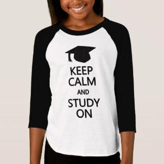 Keep Calm & Study On shirts & jackets
