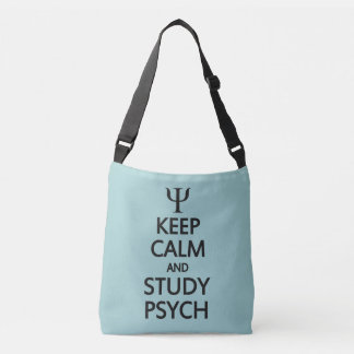 Keep Calm & Study Psych bags