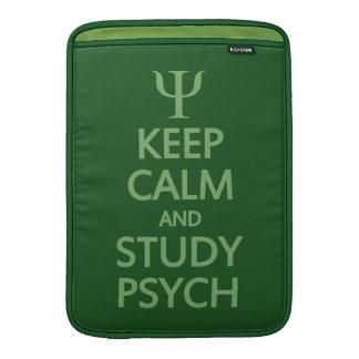 """Keep Calm & Study Psych custom 13"""" MacBook sleeve"""
