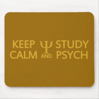 Keep Calm & Study Psych custom mousepad