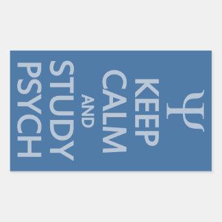 Keep Calm & Study Psych custom stickers
