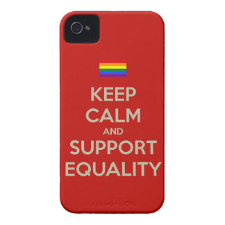keep calm support equality iPhone 4 cover