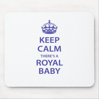 Keep Calm There's A Royal Baby Mouse Pad