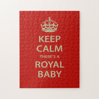 Keep Calm There's A Royal Baby Puzzles