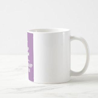 keep calm (time warp) coffee mug