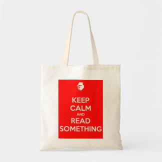 Keep Calm Tote - red