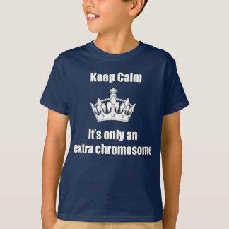 Keep Calm Trisomy T-Shirt