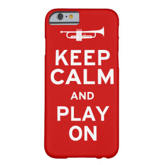 Keep Calm Trumpet Barely There iPhone 6 Case