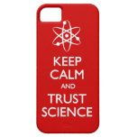 Keep Calm Trust Science iPhone 5 Cover