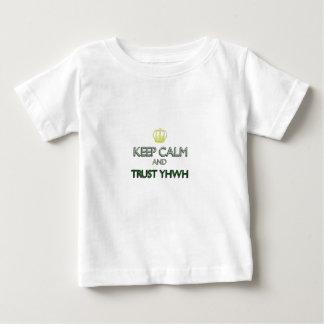 Keep Calm Trust YHWH Tshirt