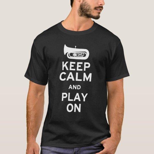 Keep Calm Tuba T-Shirt