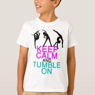Keep Calm Tumble On Gymnastics T-Shirt