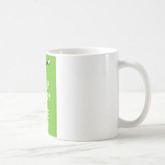 Keep Calm Uke On (Shamrock) Mugs