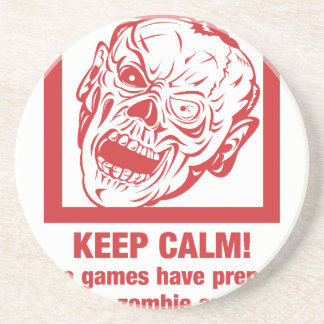 Keep calm, video games prepared me for zombie... coaster